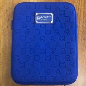 Marc by Marc Jacobs Blue IPad Carrying Case